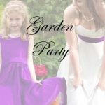 garden party swing rainbow dresses photoshoot link