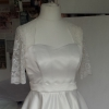 bespoke 50's style swing wedding dress
