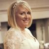Bespoke lace wedding dress