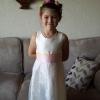 Ivory lace bespoke bridesmaid dress