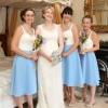 Vintage style bespoke bridesmaid dresses