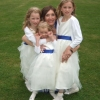 Ivory bespoke flower girl dresses