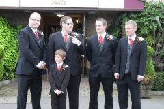 the boys our wedding