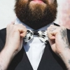 Moustache bowtie